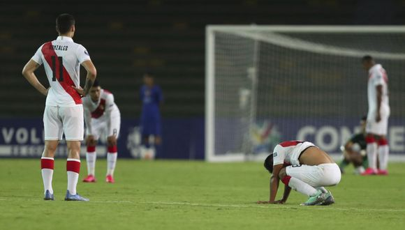 La Selección Peruana Sub 23 ganó uno de cuatro partidos en el Preolímpico 2020. (Foto: AP)