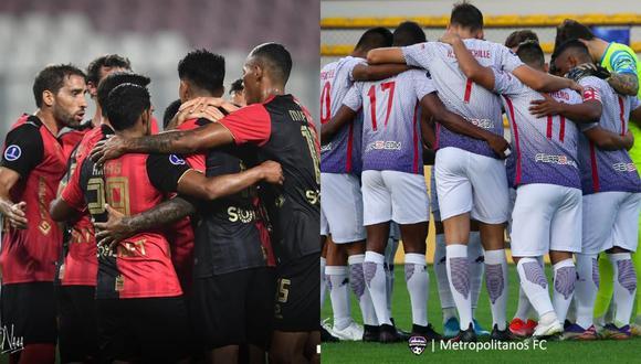 Melgar y Metropolitanos chocan se vuelven a enfrentar por la Copa Sudamericana 2021. (Fotos: Difusión)