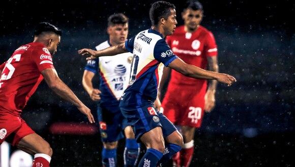 América vs Toluca por la Copa GNP por México en el Olímpico Universitario. (Foto: Club América)