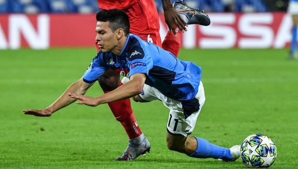 Chucky Lozano suma seis goles en la temporada de la Serie A. (Foto: AFP)