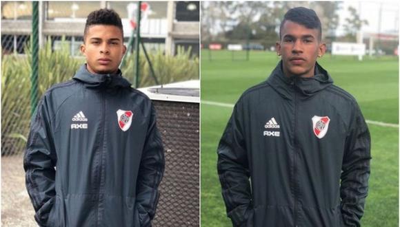Hyago de Santana Brito y Edinho llegan del club Tubarao de Santa Catarina. (Captura)