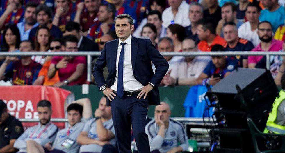 Ernesto Valverde necesita piezas de recambio para el Barcelona. (Getty)
