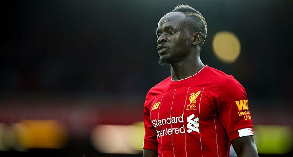 6. Sadio Mané - Liverpool - 25 goles (Getty)
