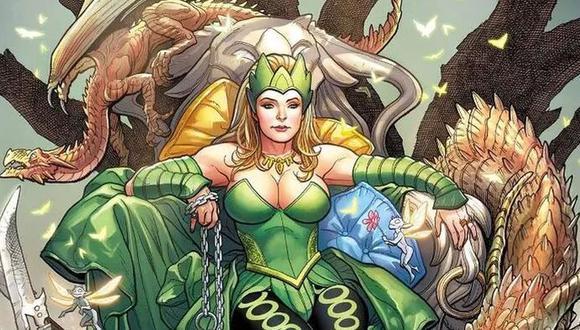 Marvel: Sylvie Lushton (Enchantress) podría aparecer en la nueva serie de TV 'Loki'.