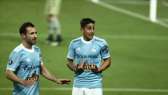 Sporting Cristal sigue sin tener suerte frente al arco de sus rivales en la Copa Libertadores. (Foto: GEC)