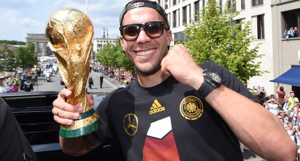 Lukas Podolski | Situación actual: Juega en Vissel Kobe. (Getty)