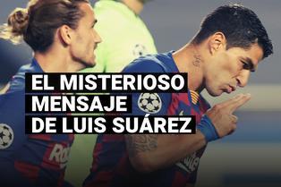 El misterioso mensaje de Suárez tras el término de los entrenamientos con FC Barcelona