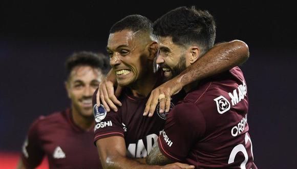 Lanús venció 1-0 a Velez por Copa Sudamericana (AFP)