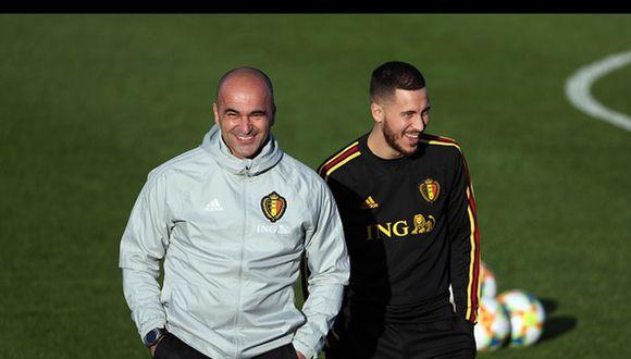 Bélgica tenía pactados dos amistosos previo a la Euro, ante Portugal y Suiza. (Getty Images)