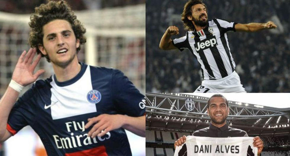 Juventus está cerca de anunciar el fichaje de Adrien Rabiot. (Fotos: Difusión)