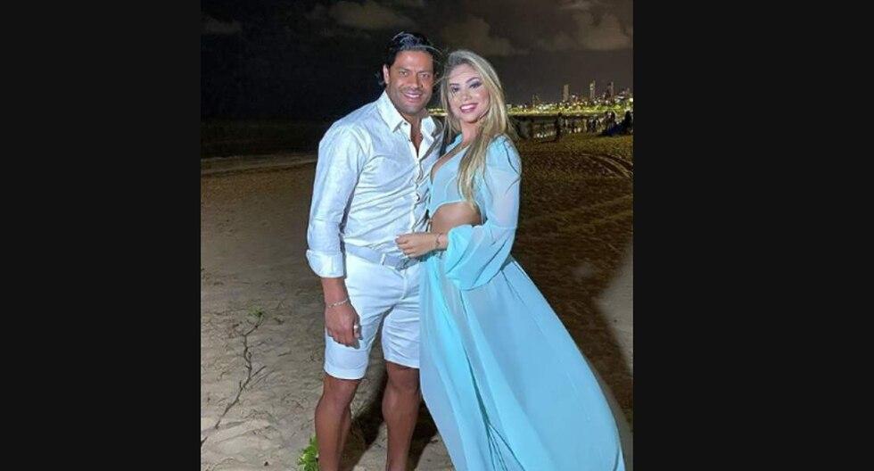 Hulk y Camila, sobrina de su exesposa, se casaron en un polémico matrimonio. (Foto: Captura)