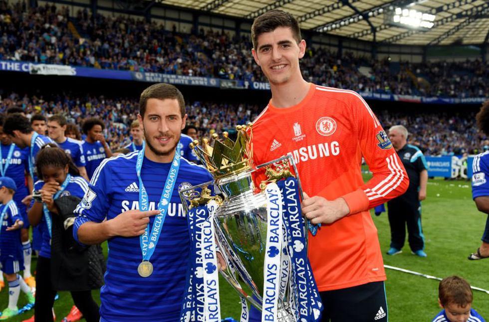 Futbolistas que vistieron las camisetas del Madrid y Chelsea. (Fotos: agencias)