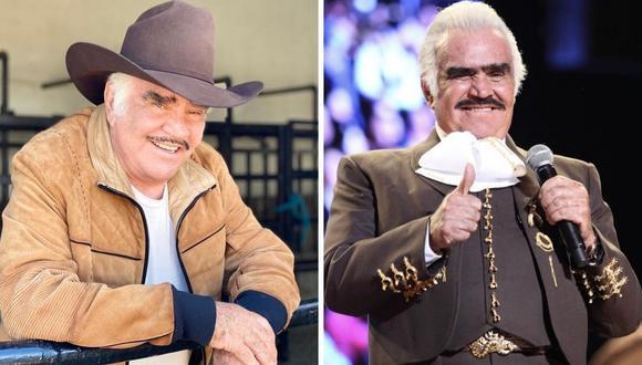 Familia de Vicente Fernández sigue dando detalles sobre el estado del cantante mexicano. (Foto: Instagram  @_vicentefdez)