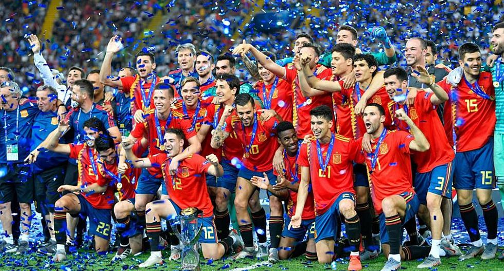 El 1ro de julio, España ganó por quinta vez el Europeo Sub 21, igualando a Italia como las selecciones con más títulos. (Foto: AFP)