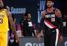¡Sorpresa en la NBA! Carmelo Anthony jugará en los Lakers y se encontrará con su amigo LeBron James