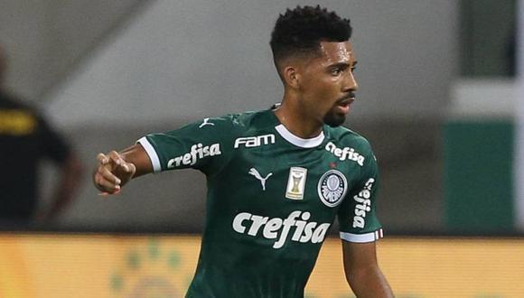 Matheus Fernandes tiene 21 años y es volante del Palmeiras. (Getty)