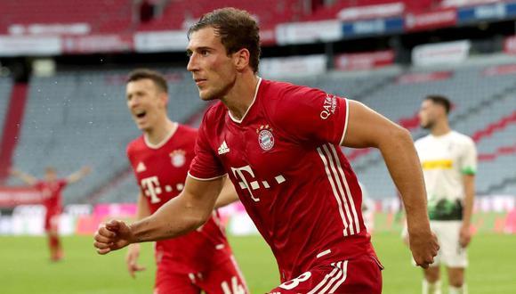 Gortezka, de 25 años, llegó al Bayern en el 2018 procedente del Schalke. (Foto: AFP)