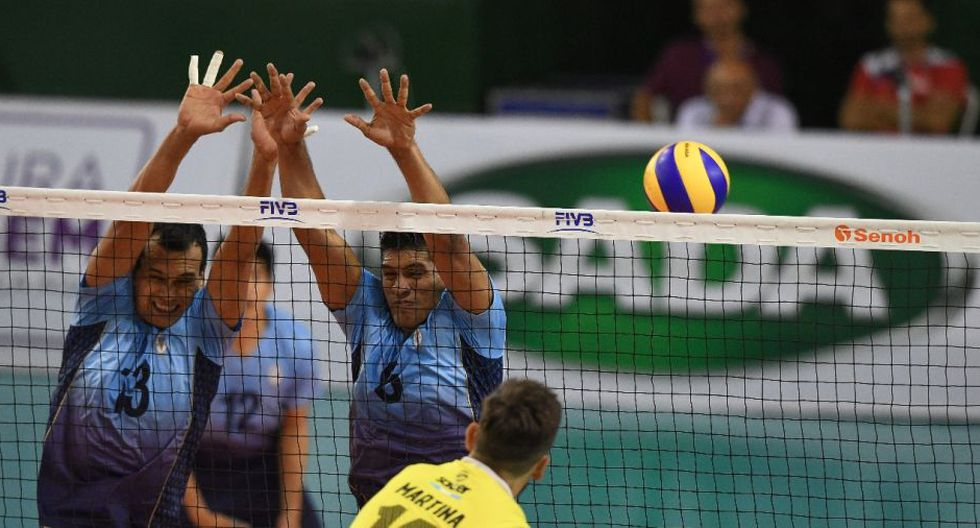 Vóley: Regatas Lima perdió contra EMS Taubaté de Brasil por 3-0 en su segundo partido en el Sudamericano Masculino de Clubes. (Twitter)