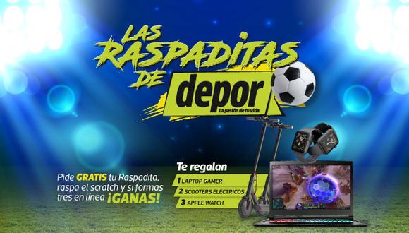 Las Raspaditas de Depor: cómo ganar y dónde llamar por los premios.