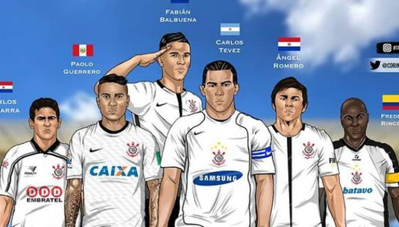Paolo Guerrero es uno de los mejores extranjeros en la historia de Corinthians, según el club. (Imagen: Timao Artes)