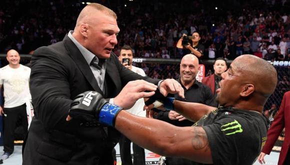 """Dana White le cierra las puertas a Brock Lesnar: """"No lo veo regresando a UFC, más con una edad avanzada"""". (UFC/Getty)"""