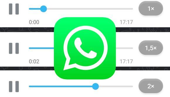 Conoce el método para activar la velocidad en los mensajes de audio de WhatsApp. (Foto: Depor)