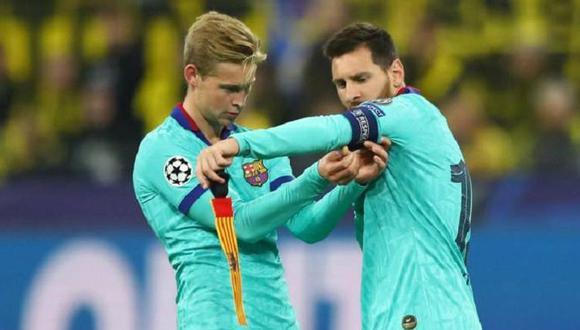 Messi y De Jong no fueron convocados para el Barcelona vs. Kiev. (Foto: Agencias)