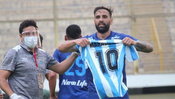 Facundo Parra comparó el fútbol peruano con el argentino (Foto: Liga 1)