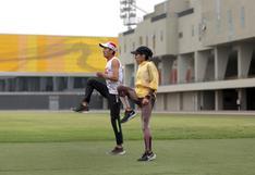 Con miras a Tokio 2020: Gladys Tejeda entrenó en el estadio atlético de la Videna