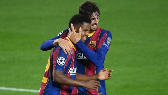 Barcelona Ferencvaros 5 1 Goles De Messi Ansu Fati Y Coutinho Por La Champions League Futbol Internacional Depor