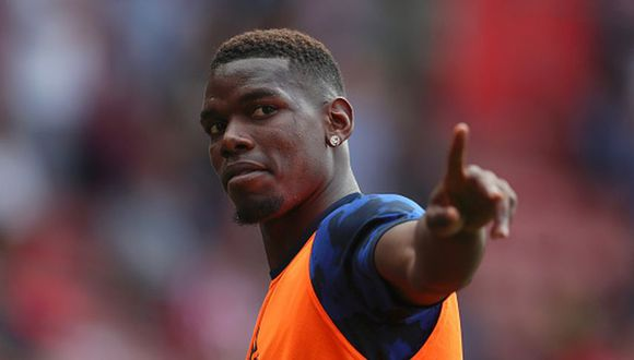 Paul Pogba llegó al Manchester United en el 2015. (Getty)