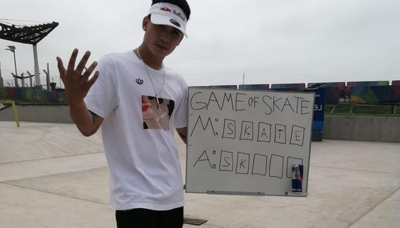 Ángelo Caro, la promesa del Skateboarding. (Difusión)