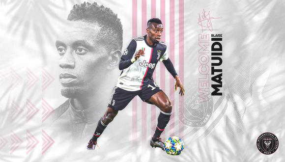Blaise Matuidi decidió dejar Juventus tras tres temporadas. (Foto: Inter de Miami)