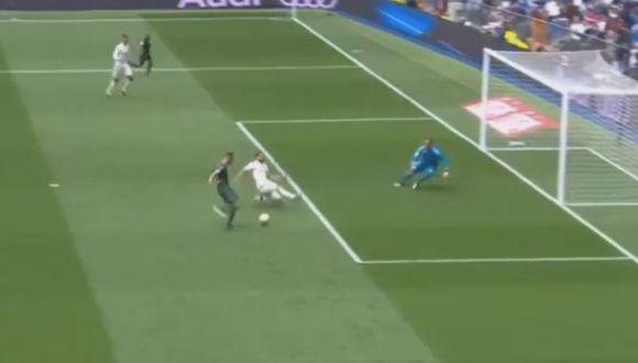 Loren Morón marcó el 1-0 del Real Madrid vs Betis en partido por la fecha 38 de Liga Santander