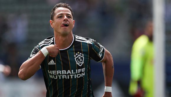 Javier Hernández anotó un 'hat-trick' en el triunfo más reciente de Los Angeles Galaxy por la MLS (Foto: Getty Images)