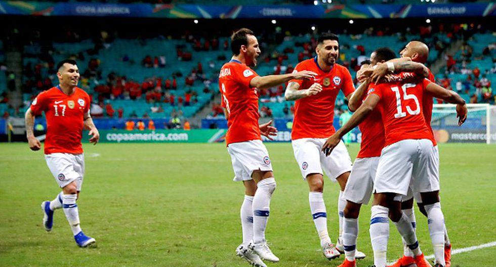 Chile, a cuartos de final tras vencer a Ecuador en el Arena Fonte Nova por la Copa América 2019 (Getty)