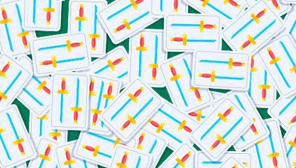 ¿Encuentras las cartas diferentes al resto en la imagen? Diviértete participando en este reto viral. (Foto: Noticieros Televisa)