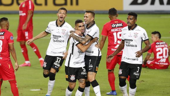 Sport Huancayo cayó 3-0 ante Corinthians por Copa Sudamericana (Foto:agencias)