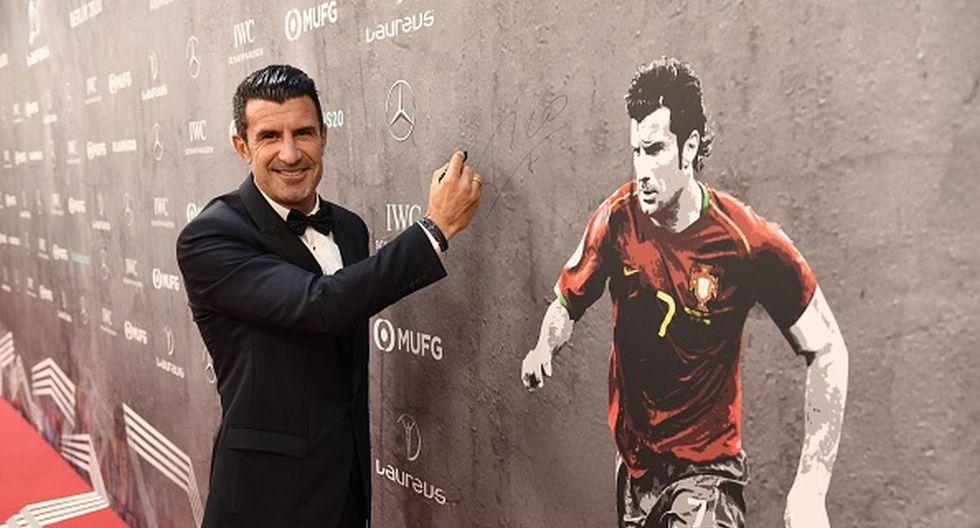 Luis Figo es considerado como uno de los mejores jugadores lusos de la historia. (Foto: Getty Images)