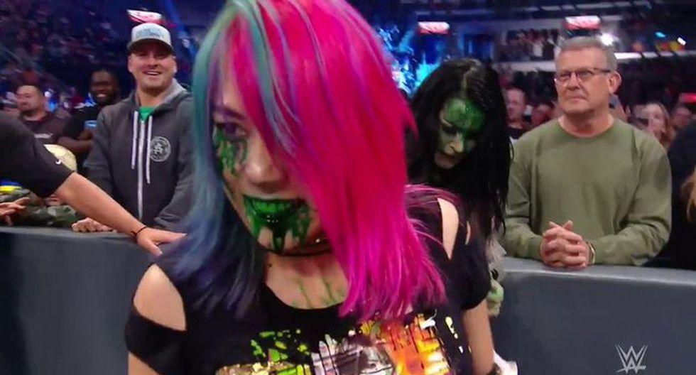 Asuka sigue haciendo de las suyas en Raw. (Foto: WWE)
