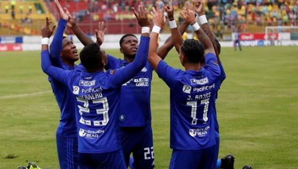 Emelec venció 2-0 a Aucas por la jornada 1 de Serie A de Ecuador 2019. (Twitter)