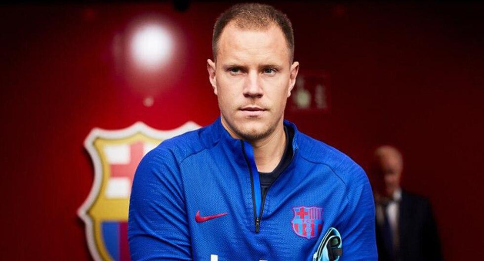 Ter Stegen es uno de los pilares del Barcelona en la temporada. (Foto: Agencias)