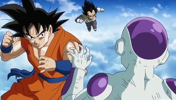 Dragon Ball Super: reimaginan la pelea de Goku vs. Freezer en increíble arte. (Foto: Toei Animation)