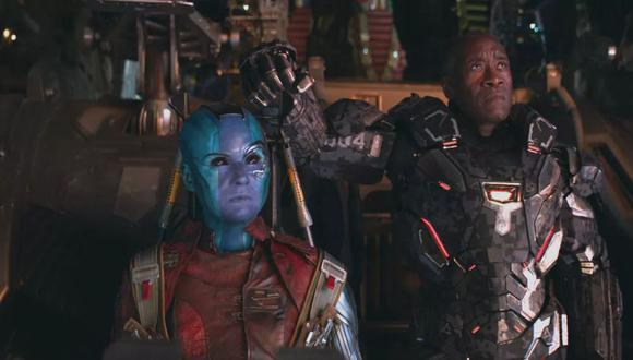 Nebula en Avengers: Endgame (Marvel)