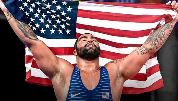 WWE contrató a medallista de oro olímpico en lucha libre. (WWE)