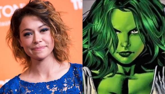 "Tatiana Maslany será Jessica Walters en ""She-Hulk"" de Disney+. (Foto: AFP/Marvel Comics)"