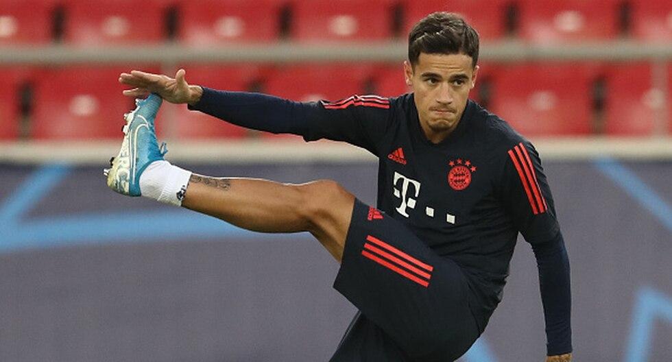 Coutinho fue cedido del Barcelona al Bayern Munich. (Foto: Getty)