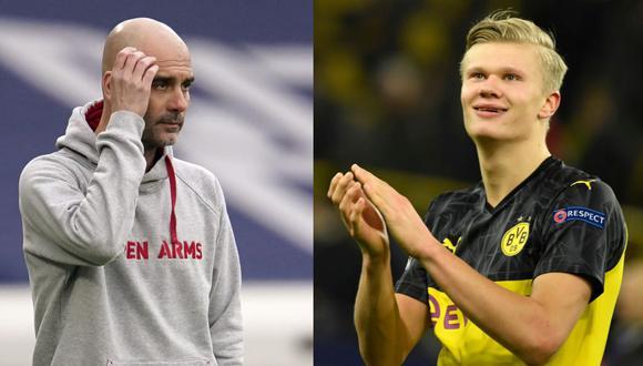 Manchester City seguiría en carrera por el fichaje de Erling Haaland. (Foto: AP)