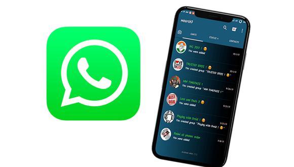 ¡Ya llegó! Obtén ahora el nuevo diseño de WhatsApp en tu celular. Aprende cómo. (Foto: Mockup)