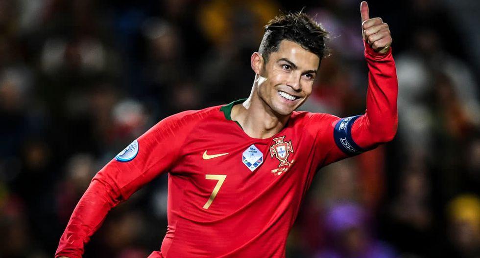 Cristiano Ronaldo anotó un 'hat trick' ante Lituania rumbo a al Eurocopa 2020. (Getty)